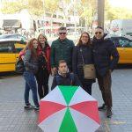 Visita guidata di Barcellona. L'ombrello italiano
