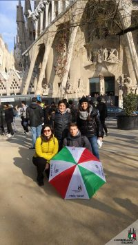 Visita guidata a piedi della Sagrada Famiglia di Barcellona