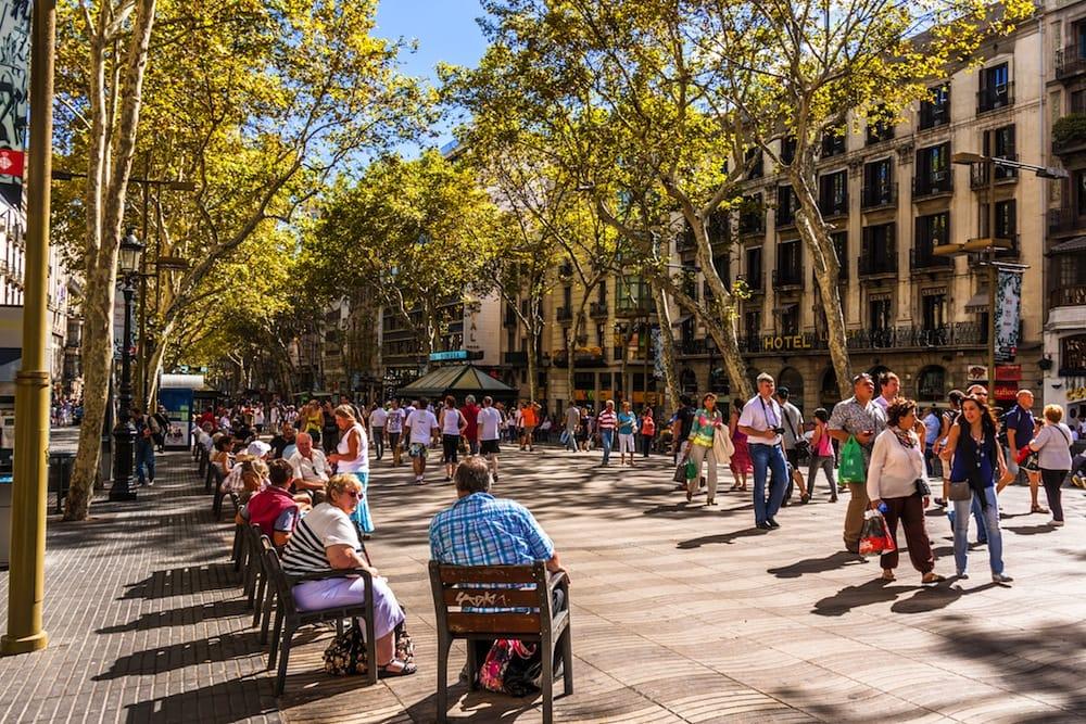 """Visita guidata in italiano de """"Las Ramblas"""" di Barcellona"""