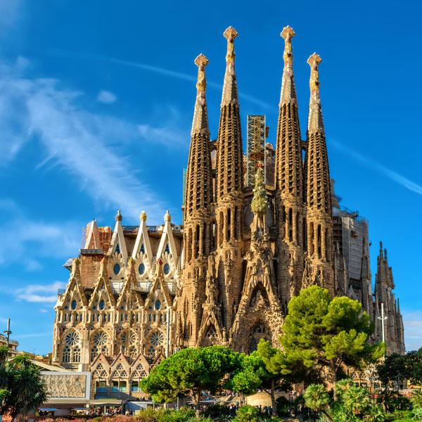 Tour Sagrada Famiglia Barcellona in Italiano, l'ombrello italiano