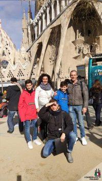 Visita guidata a piedi in italiano della Sagrada Famiglia e Gaudì a Barcellona