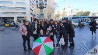 Tour gratuiti di Barcellona e del quartiere Gotico. L'ombrello italiano