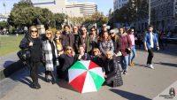 Visita guidata a piedi di Barcellona. L'ombrello Italiano