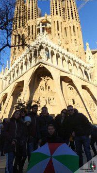 Tour a piedi con guida in italiano della Sagrada Famiglia e Gaudì