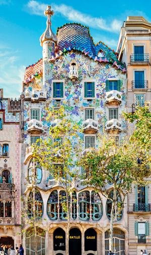 Visita della basilica Sagrada Famiglia di Antoni Gaudí