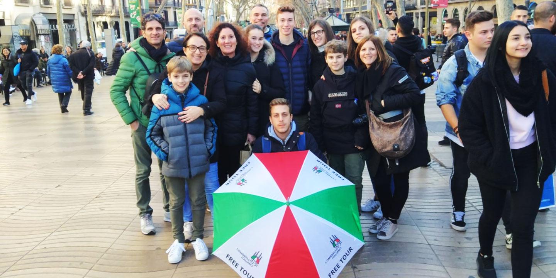 Free tour in Italiano di Barcellona